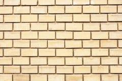 Σύγχρονο κίτρινο τούβλο Στοκ Εικόνα