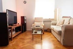 Σύγχρονο καθιστικό Στοκ εικόνες με δικαίωμα ελεύθερης χρήσης