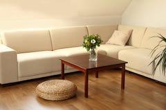 σύγχρονο καθιστικό Στοκ Φωτογραφία