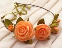 Σύγχρονο και μοντέρνο floral στεφάνι Στοκ Φωτογραφία