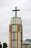 σύγχρονο καμπαναριό εκκλησιών Στοκ εικόνα με δικαίωμα ελεύθερης χρήσης