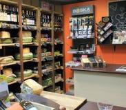 Σύγχρονο κατάστημα τυριών στοκ φωτογραφία με δικαίωμα ελεύθερης χρήσης