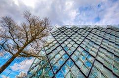 Σύγχρονο κατοικημένο κτήριο στο Αϊντχόβεν, Κάτω Χώρες Με περίπου 225.000 κατοίκους του ο 5$ος-μεγαλύτερος δήμος Netherla Στοκ φωτογραφία με δικαίωμα ελεύθερης χρήσης