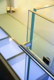 Σύγχρονο κιγκλίδωμα γυαλιού Στοκ Εικόνα