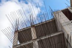 Σύγχρονο κτήριο κάτω από την οικοδόμηση Στοκ Εικόνες