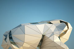 Σύγχρονο κτήριο κεντρικός Στοκ Εικόνες