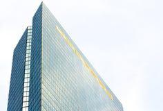 Σύγχρονο κτήριο στον ορίζοντα της Βοστώνης Στοκ Εικόνες