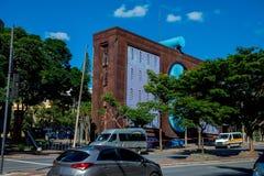 Σύγχρονο κτήριο στο Μπέλο Οριζόντε στοκ φωτογραφία