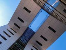 Σύγχρονο κτήριο - σύγχρονο σχέδιο Στοκ εικόνες με δικαίωμα ελεύθερης χρήσης