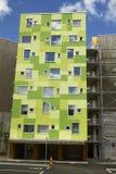 Σύγχρονο κτήριο appartement Στοκ εικόνα με δικαίωμα ελεύθερης χρήσης