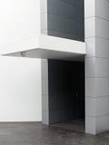 Σύγχρονο κτήριο, Awning πλακών Στοκ εικόνα με δικαίωμα ελεύθερης χρήσης