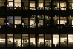 Σύγχρονο κτίριο γραφείων στο στο κέντρο της πόλης Τορόντο Στοκ Εικόνα