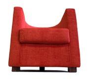 σύγχρονο κόκκινο πολυθ&rh Στοκ εικόνες με δικαίωμα ελεύθερης χρήσης