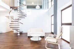 Σύγχρονο κύριο δωμάτιο Στοκ Εικόνες