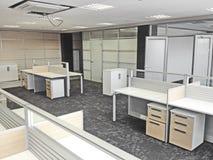 Σύγχρονο λειτουργώντας γραφείο Στοκ φωτογραφία με δικαίωμα ελεύθερης χρήσης