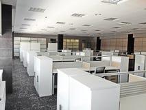 Σύγχρονο λειτουργώντας γραφείο Στοκ Εικόνα