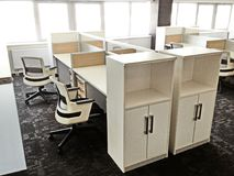 Σύγχρονο λειτουργώντας γραφείο Στοκ Εικόνες