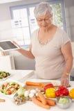 Σύγχρονο μαγείρεμα γιαγιάδων στοκ φωτογραφία