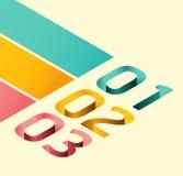 Σύγχρονο μαλακό πρότυπο σχεδίου χρώματος Στοκ εικόνα με δικαίωμα ελεύθερης χρήσης
