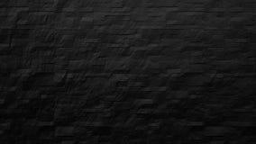 σύγχρονο μαύρο υπόβαθρο τουβλότοιχος Στοκ φωτογραφία με δικαίωμα ελεύθερης χρήσης