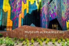 Σύγχρονο μουσείο αρχιτεκτονικής στην πόλη του Κάνσας στοκ εικόνες