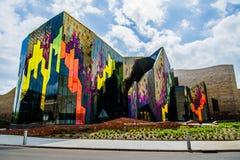 Σύγχρονο μουσείο αρχιτεκτονικής στην πόλη του Κάνσας Στοκ φωτογραφίες με δικαίωμα ελεύθερης χρήσης