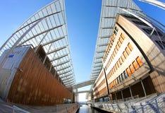 Σύγχρονη αρχιτεκτονική στο Όσλο, Νορβηγία Στοκ Εικόνα