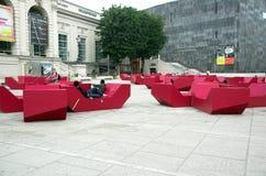 σύγχρονο μουσείο Βιέννη τέ στοκ εικόνα