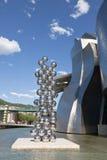 σύγχρονο μουσείο guggenheim του Μπιλμπάο τέχνης Στοκ Εικόνα