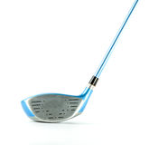 Σύγχρονο μπλε γκολφ κλαμπ που απομονώνεται Στοκ Εικόνες