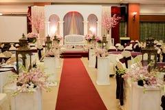 Σύγχρονο ντεκόρ γαμήλιου θέματος Στοκ φωτογραφία με δικαίωμα ελεύθερης χρήσης