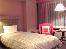 σύγχρονο ξενοδοχείο κρεβατοκάμαρων Στοκ Εικόνα