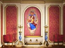 Σύγχρονο λουτρό Στοκ εικόνα με δικαίωμα ελεύθερης χρήσης