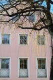 Σύγχρονο παλάτι σε Brunico, Val Pusteria, Alto Adige, Ιταλία Στοκ φωτογραφίες με δικαίωμα ελεύθερης χρήσης