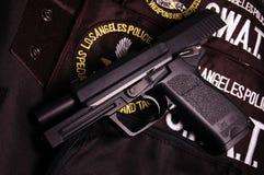 σύγχρονο πιστόλι πυροβόλ&o Στοκ Φωτογραφίες