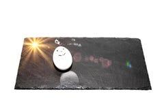Σύγχρονο πρόγευμα με το αυγό Στοκ φωτογραφίες με δικαίωμα ελεύθερης χρήσης