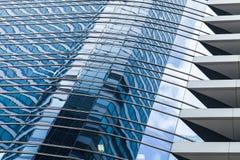 Σύγχρονο πρότυπο αρχιτεκτονικής κτιρίου γραφείων Στοκ φωτογραφία με δικαίωμα ελεύθερης χρήσης