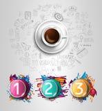 Σύγχρονο πρότυπο φυλλάδιων Infographic για την ταξινόμηση προϊόντων απεικόνιση αποθεμάτων
