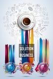 Σύγχρονο πρότυπο φυλλάδιων Infographic για την ταξινόμηση προϊόντων, busine ελεύθερη απεικόνιση δικαιώματος