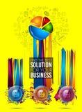 Σύγχρονο πρότυπο φυλλάδιων Infographic για την ταξινόμηση προϊόντων, busine απεικόνιση αποθεμάτων