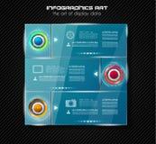 Σύγχρονο πρότυπο φυλλάδιων Infographic για την ταξινόμηση προϊόντων, busine διανυσματική απεικόνιση