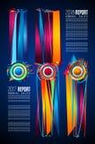 Σύγχρονο πρότυπο φυλλάδιων Infographic για την ταξινόμηση προϊόντων, την επιχειρησιακή παρουσίαση flyesr και την ταξινόμηση λύσεω διανυσματική απεικόνιση