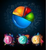 Σύγχρονο πρότυπο φυλλάδιων Infographic για την ταξινόμηση προϊόντων, την επιχειρησιακή παρουσίαση flyesr και την ταξινόμηση λύσεω απεικόνιση αποθεμάτων