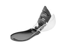 Σύγχρονο πλαστικό γκρίζο sharpener μαχαιριών που απομονώνεται Στοκ φωτογραφία με δικαίωμα ελεύθερης χρήσης