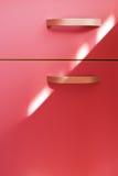 σύγχρονο ροζ λαβών επίπλω& στοκ εικόνα