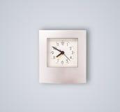Σύγχρονο ρολόι με τις ώρες και τα πρακτικά Στοκ Εικόνες