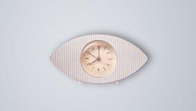 Σύγχρονο ρολόι με τις ώρες και τα πρακτικά Στοκ φωτογραφία με δικαίωμα ελεύθερης χρήσης