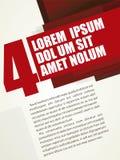 Σύγχρονο ρωσικό κόκκινο σχεδιαγράμματος Στοκ εικόνα με δικαίωμα ελεύθερης χρήσης