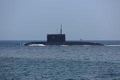 Σύγχρονο ρωσικό υποβρύχιο βλημάτων Στοκ φωτογραφία με δικαίωμα ελεύθερης χρήσης
