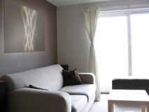 σύγχρονο σαλόνι σύγχρονο Στοκ εικόνα με δικαίωμα ελεύθερης χρήσης